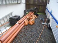 110 mm Drainage Pipes + Fittings
