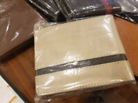 pure leather wallets for