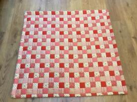 Handmade Lap Quilt- a warm cosy gift for Grandmother or adult wheelchair user.
