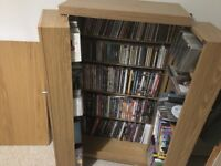 DVD, PS3/4, Xbox, and CD cabinet