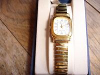 9ct Gold Plate Ladies Avia Watch