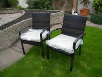 Rattan Garden Chairs - New & Unused!