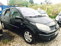 ★🚷KWIKI AUTO SALES🚳★2005 RENAULT MEGANE SCENIC 1.6 PETROL★7 SEATER★SERVICE HISTORY★PX TO CLEAR★