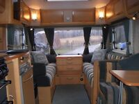 4 Berth Abbey Vogue GTS Caravan with Full Sized Awning.