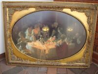 PICTURE IN GOLD ORNATE FRAME