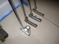 4 LEFT HAND PUTTERS