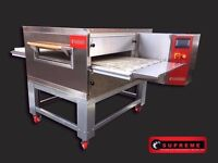 "CATERING COMMERCIAL NEW 26"" GAS CONVEYOR PIZZA OVEN RESTAURANT KITCHEN FAST FOOD TAKE AWAY CUISINE"