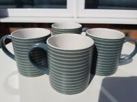 Four Denby mugs