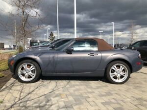 2006 Mazda MX-5 GT CONVERTIBLE WITH SADDLE BROWN ROOF & INTERIOR