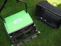 Handy push lawn mower