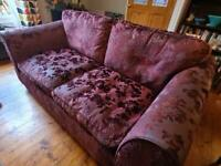 Pair of Marks & Spencer sofas