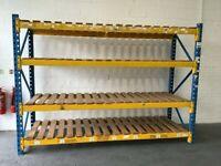 Used PSS Longspan Shelving System - Single Starter Bay