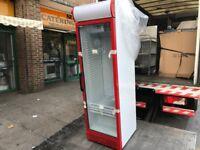 NEW COLD DRINK COOLER FRIDGE GLASS DOOR BEAUTIFUL ITALIAN FRIDGE CAFE KEBAB PIZZA RESTAURANT BAR
