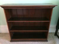 Very old bookcase.