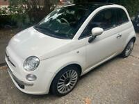 20 Fiat 500 lounge 1.4 manual,genuine low miles 73000, drives superb,long mot,great cond
