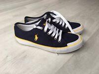 Ralph Lauren Mans canvas shoes