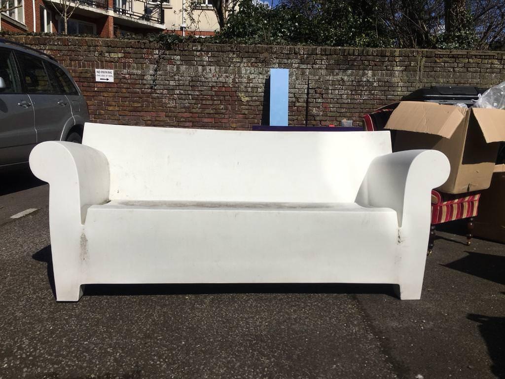 kartell bubble club sofa philippe stark designed in hove east
