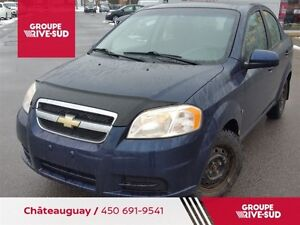 2009 Chevrolet Aveo LS + + SEULEMENT 62000 KM