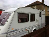 Elddis Furicano 2 berth caravan ready to use