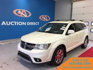 2012 Dodge Journey SXT & Crew, HEATED SEATS, SUNROOF, BLUETOOTH,