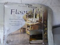 Wickes Polished Black Granite Floor Tiles