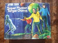 VINTAGE STAR TREK SUPER PHASER II TARGET GAME FROM 1976