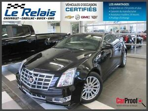 2013 Cadillac CTS COUPE AWD groupe de performance