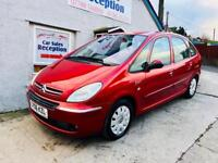 CITREON XSARA PICASSO EXCL 1.6 FSH £1495!!