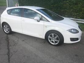 2012 - 62 - Seat Leon 1.6TDI Ecomotive S Copa 5 Door Hatchback **£0 Rd Tax**