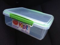 (New) Sistema klip it 2 litre lunch box / container
