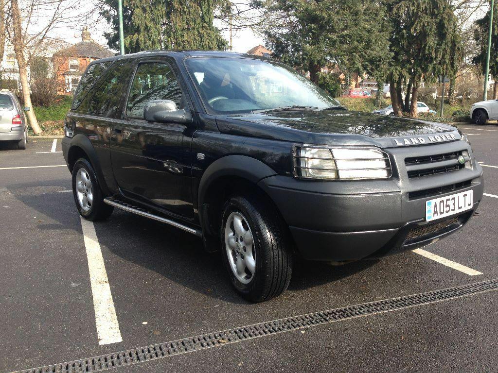 2003 land rover freelander serengeti td4 black in high wycombe buckinghamshire gumtree. Black Bedroom Furniture Sets. Home Design Ideas