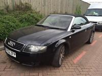 Audi A4 3.0 2002 convertible drives awesome bargain ready for summer