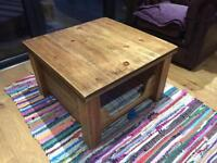 Coffee table / small pet den (reduced)