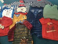 Boys bundle of clothes 6-12m