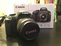 Canon EOS 550D Digital SLR Camera (inc 18-55 mm f/3.5-5.6 IS)