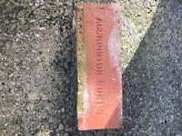 Reclaimed Accrington bricks