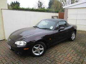 MAZDA MX-5 1.6 PETROL WITH BRAND NEW ROOF