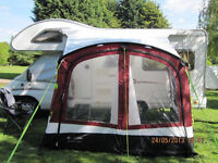 Outdoor Revelution Techlite Pro-L Awning for a small caravan or motorhome
