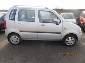 2003 VAUXHALL AGILA, 1.2L PETROL, BREAKING PARTS ONLY, POSTAGE AVAILABLE NATIONWIDE
