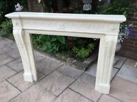 Marble Effect Resin Fire Surround ( very heavy )