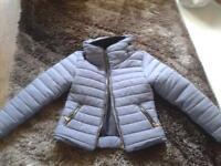 zara padded jacket
