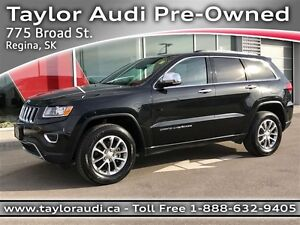 2016 Jeep Grand Cherokee Limited LTHR, REAR CAM, COMMAND START