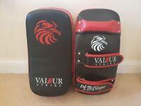 Valour Strike kick pads x2 for MMA, Muay Thai, Boxing etc.