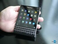 Blackberry Passport, touchscreen, unlocked, not samsung, iphone etc