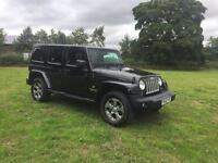 2016 Jeep Wrangler 2.8 CRD unlimited Station Wagon 4x4 SUV
