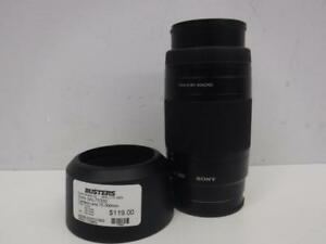 Sony Camera Lens 75-300mm. We Buy and Sell Used Cameras and Equipment. 115903*