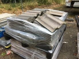 Job lot of new roof tiles