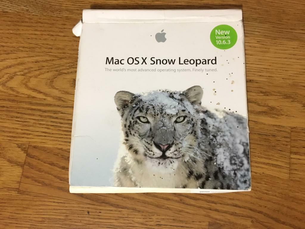 Mac OS X Snow Leopard Install Disk   in Barking, London   Gumtree