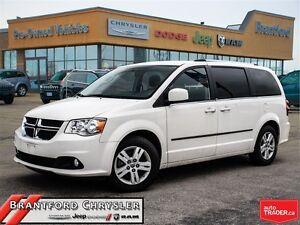 2013 Dodge Grand Caravan Crew~Stowe-n-go~one Owner~Power Options