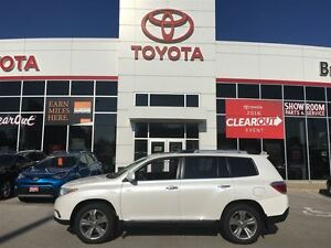 2013 Toyota Highlander Limited LOADED